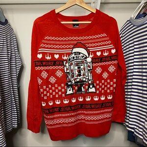 Star Wars Christmas Sweater R2D2